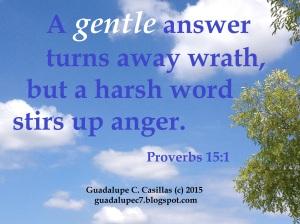 Proverbs 15   1