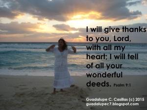 Psalm 9 1